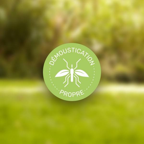Label Démoustication Propre - Qista