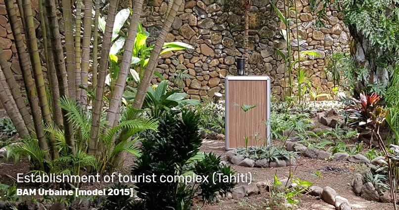 BAM Urbaine in operation - installation of the mosquito control trap in Tahiti